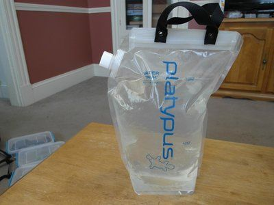 Get A 4 6 Liter Water Bag For The Campsite Backpacking