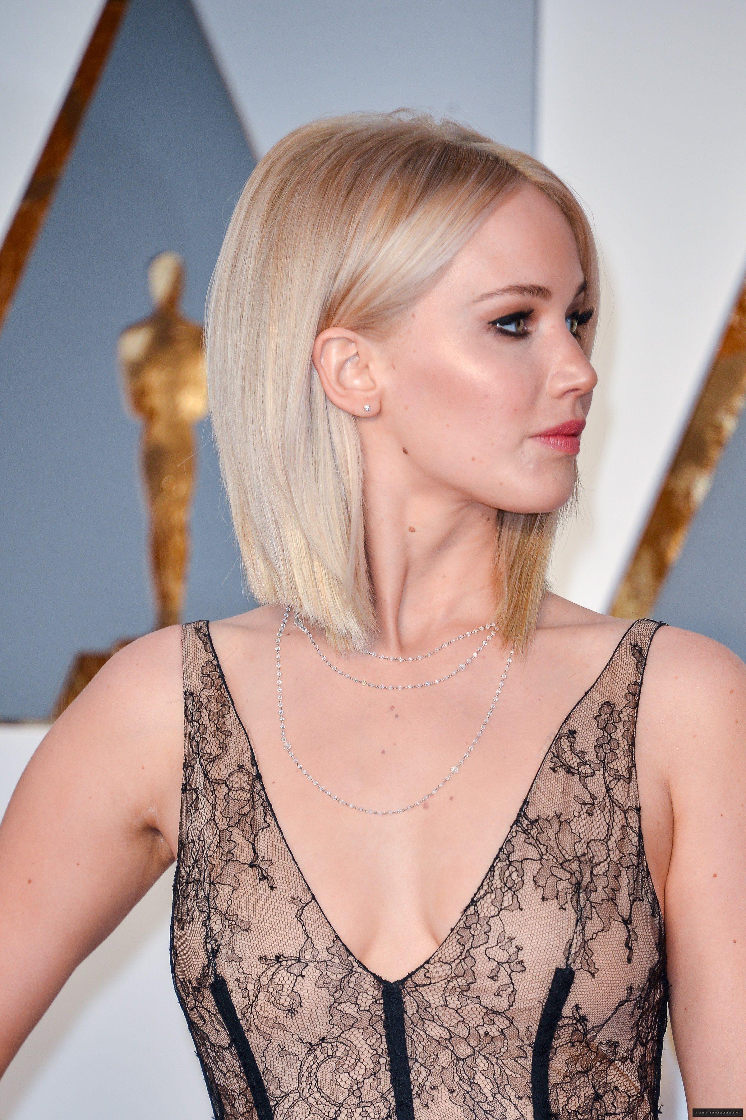 Jennifer Lawrence Oscars 2016 be Beauty Pinterest