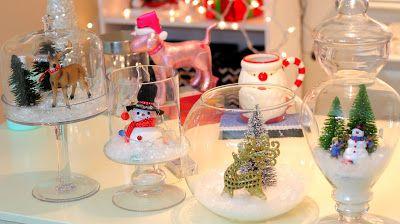 Aprende Como Hacer Nieve Artificial Para Hacer Adornos Navidenos - Hacer-adornos-navidad