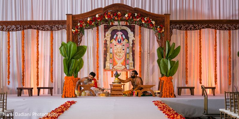 Mandap In Orlando Fl Indian Wedding By Nami Dadlani Photography