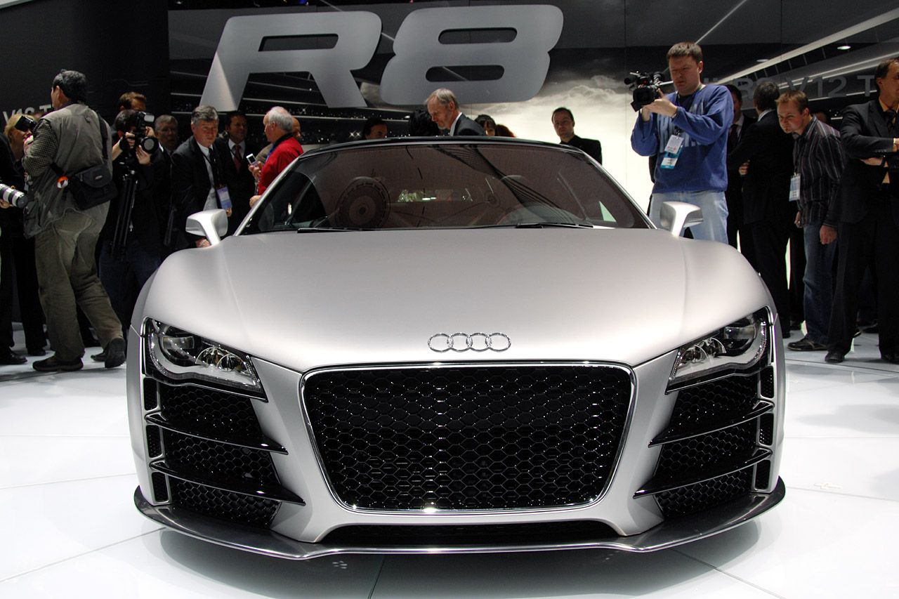 Audi R8 Le Mans concept, apparently with gills. Audi rs8