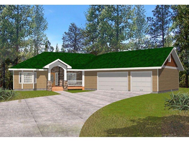 Amazing Angled Garage House Plans