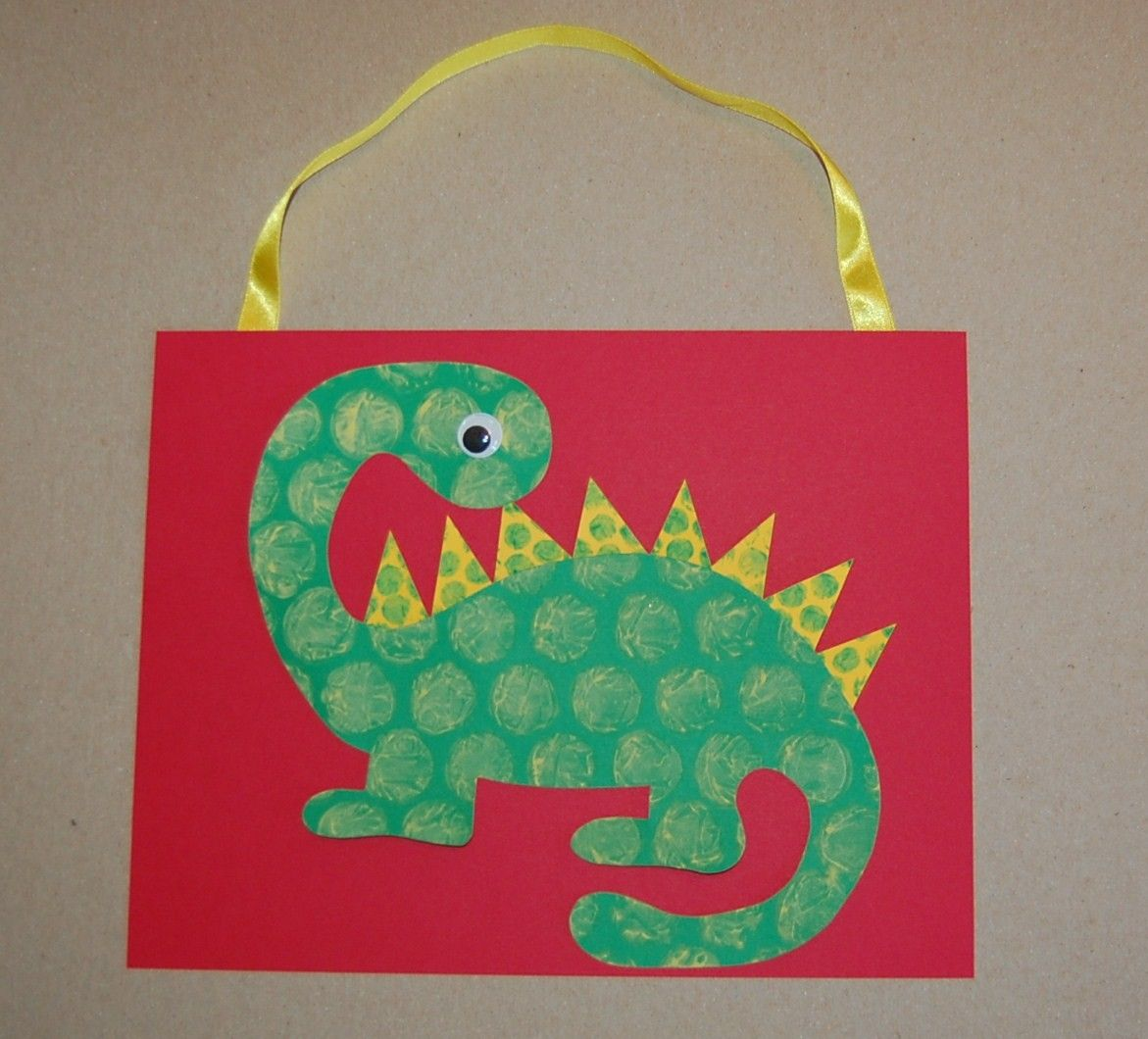 Dinosaur arts and crafts - Clearance Bubble Dinosaur Craft Kit