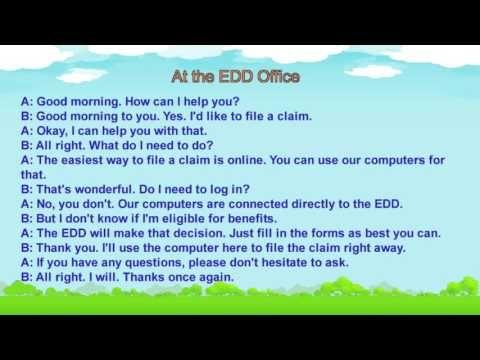 Learn English Short Conversation Unemployment 1 Unemployment