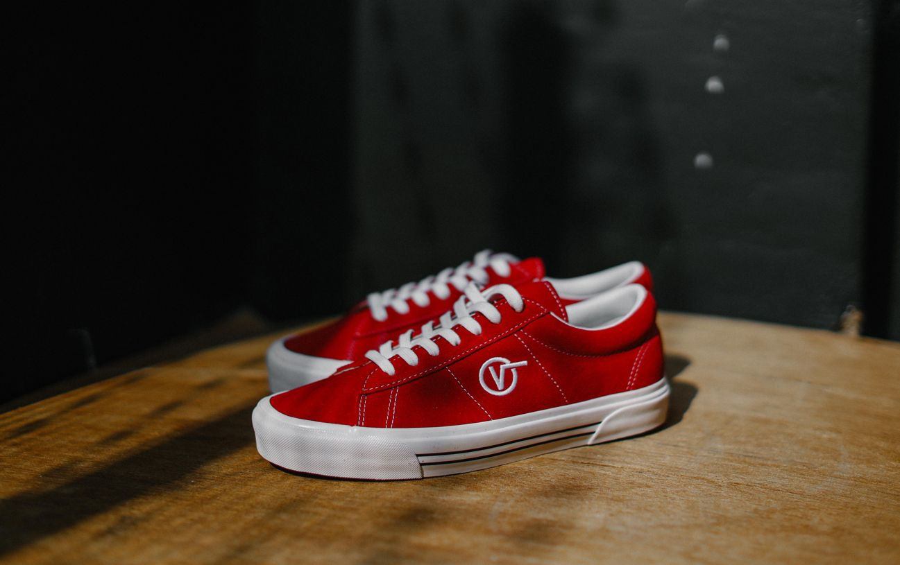 all red vans sale