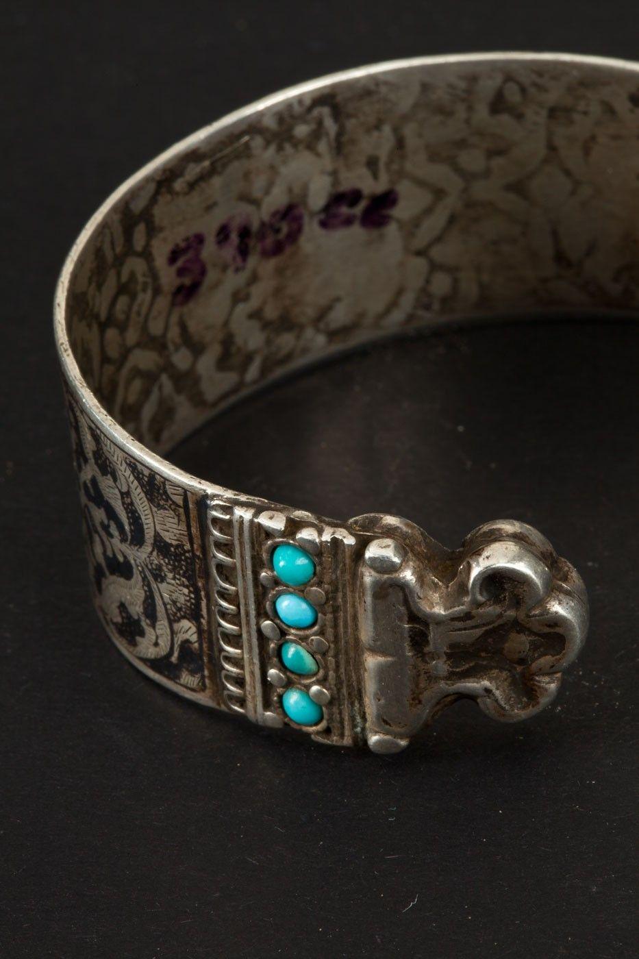 Bukhara jewelry Silver bracelet