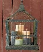 decorating with vintage bird cages - Bing Images