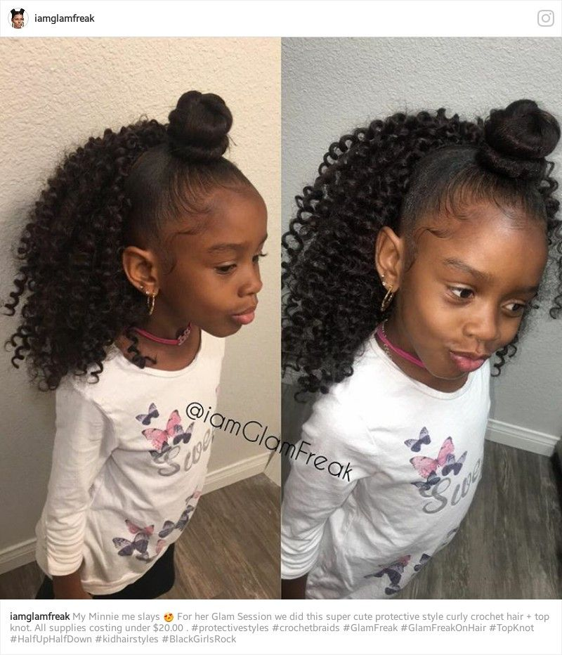 Pin By Kenya Perry On Lil Girls Hairstyles Pinterest