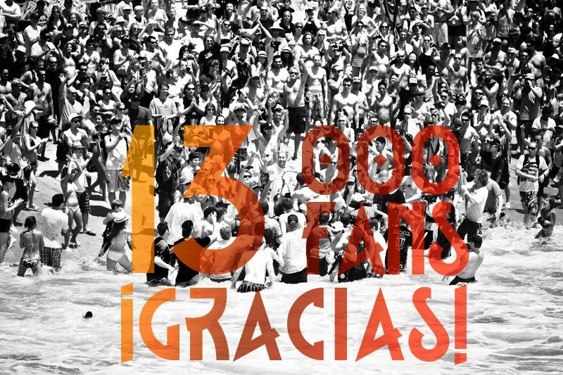 Celebrando #13000Fans en Facebook Muchas gracias!! https://www.facebook.com/QustodianES