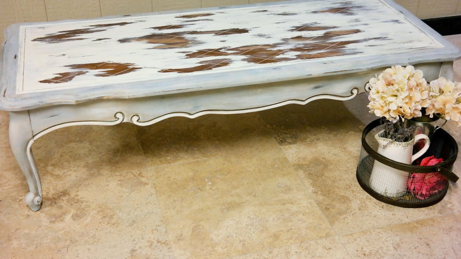 Living   French Country Coffee Table