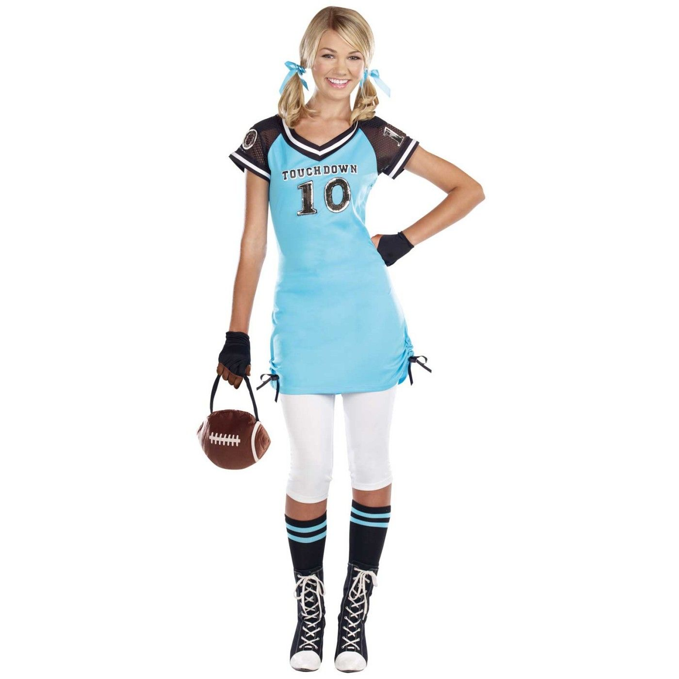 halloween costumes for teenage girls | Football Touchdown Cutie ...