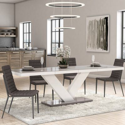 Thurmont Top Dining Table Dining Table In Kitchen Stylish Dining Room Dining Table