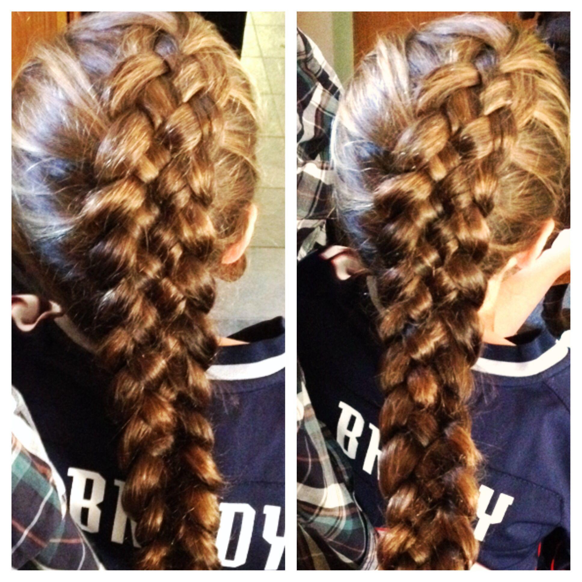 Five strand Dutch braid Updo Pretty braids Follow my Instagram
