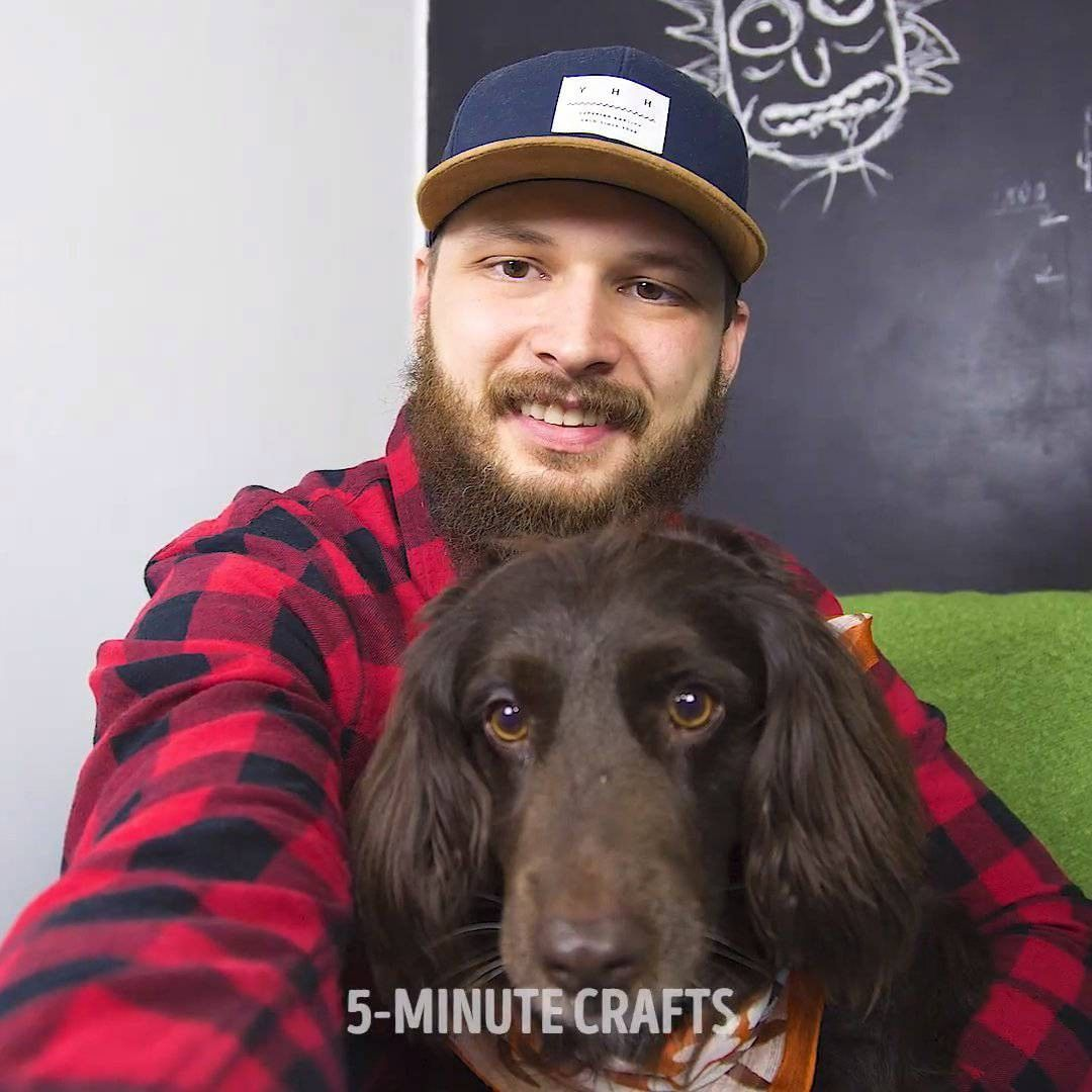 "Gefällt 8,517 Mal, 101 Kommentare - 5-Minute Crafts (@5.min.crafts) auf Instagram: ""Cool DIY gadget for best selfies with your dog. 🐶 #5minutecrafts #gadget #dog #selfie #selfies #DIY…"""