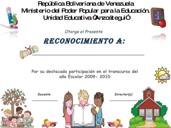 Diploma Ninos Cesar Patino Ninos Preescolar Y Diplomas Para Ninos