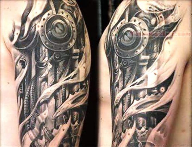 20 Biomechanical Tattoos Biomechanical Tattoo Tattoos Mechanic Tattoo
