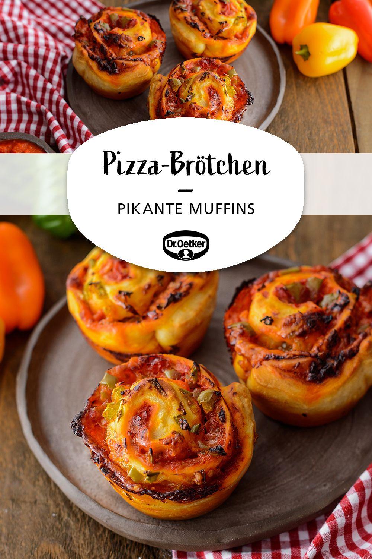 Pizza-Brötchen