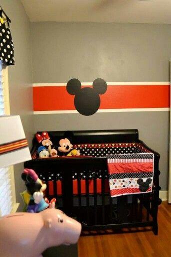 Mickey Minnie Nursery Idea