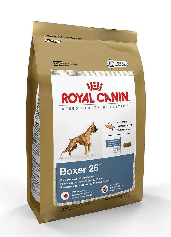 Royal Canin Dry Dog Food Boxer 26 Formula 33 Pound Bag Learn