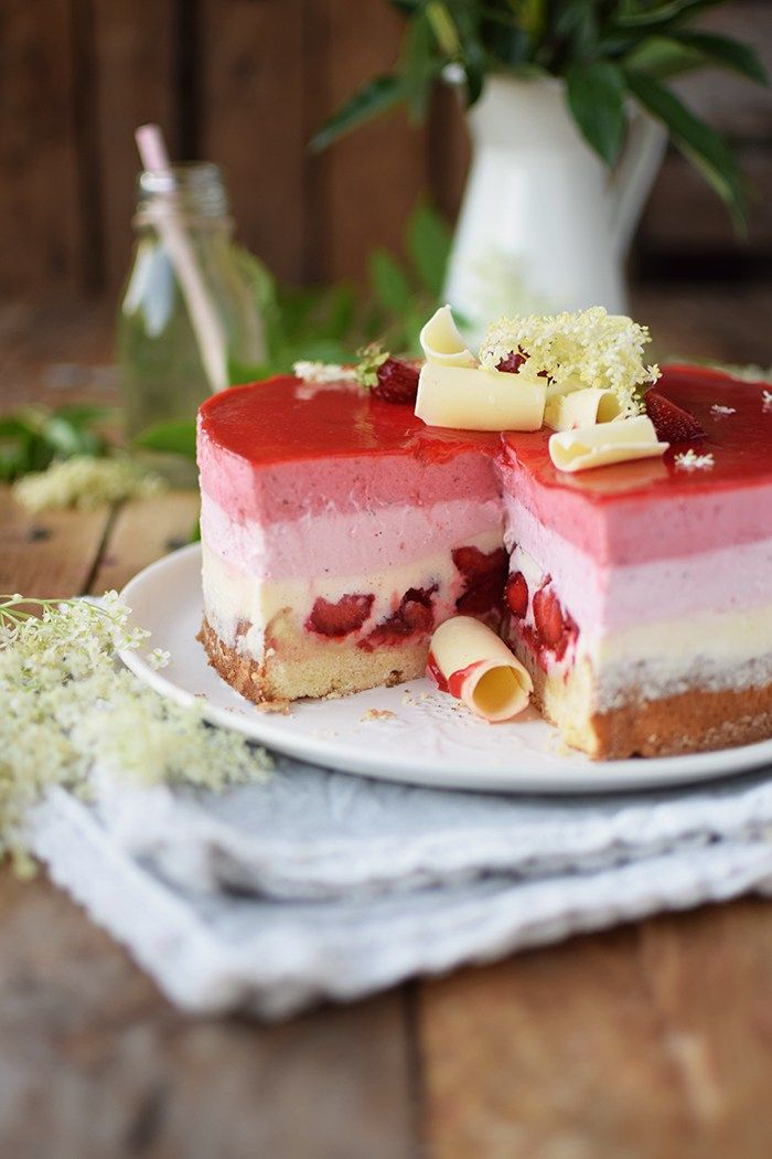 Joghurt Fruchte Torte Torten Rezepte Kuchen Rezepte Joghurttorte