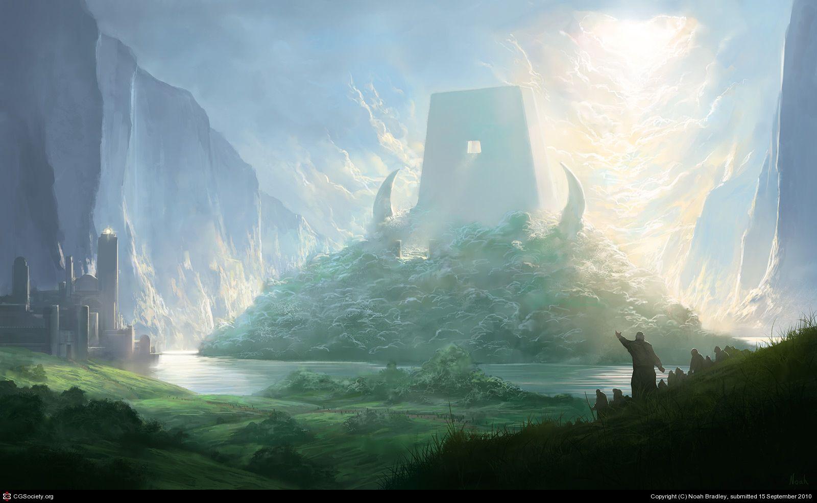 The End of Sorrow by Noah Bradley | 2D | CGSociety