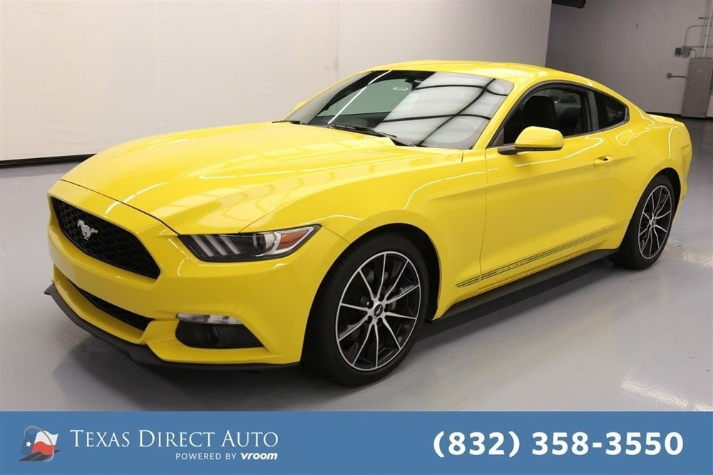 Ebay 2017 Ford Mustang Ecoboost 2dr Fastback Texas Direct Auto