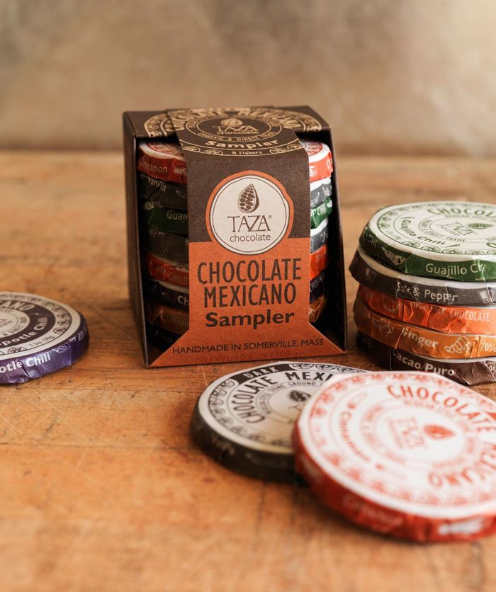 Taza. Chocolate Mexicano. Lovely traditional packaging approach.