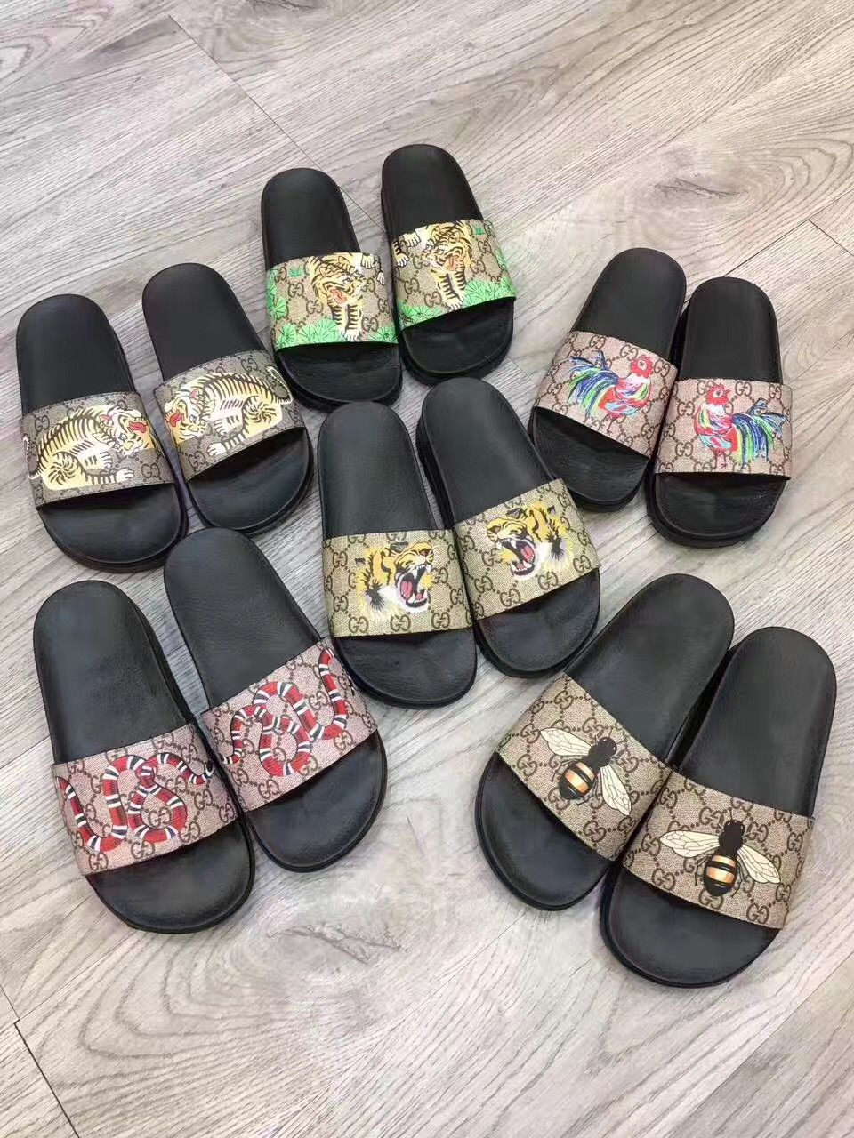 566489ce1e68b9 Gucci man shoes casual slippers slides | Chinelos | Sapatos, Gucci e ...