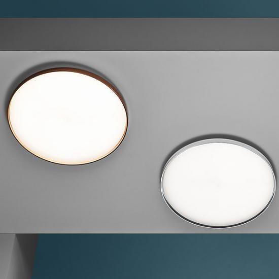 Runde LED-Easydim-Deckenleuchte Lela Deckenleuchten Pinterest - badezimmer led deckenleuchte ip44