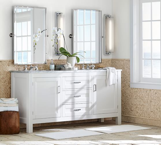 Kensington Pivot Rectangular Mirror Bathroom Cleaning Bathroom