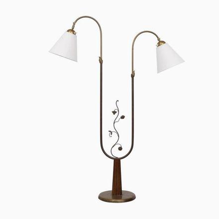 Stehlampe von Tor Wolfenstein für Ditzingers, 1940er Jetzt bestellen