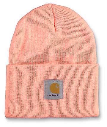 4a70866a75e Carhartt Watch Fresh Peach Beanie