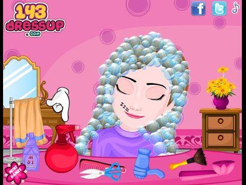 Frozen Lazy Anna Haircut Frozen Dress Up Games Frozen Dress Up Frozen Dress Up Game
