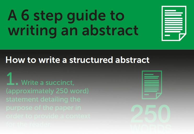 Infographic For How To Write An Abstract Healthpsychtam Abstract Writing Essay Writing Writing