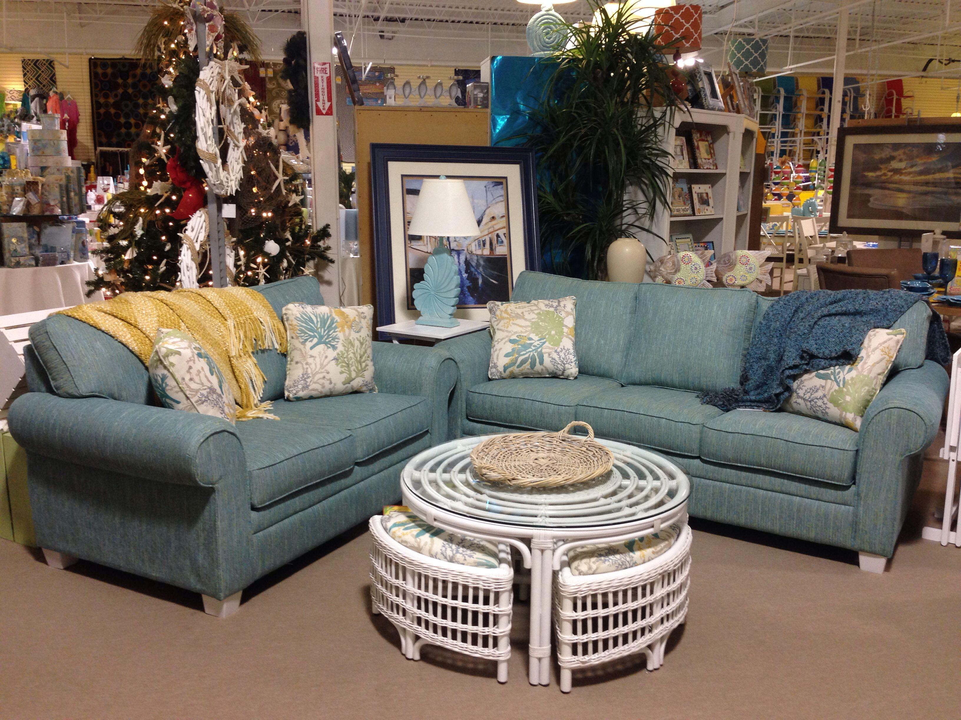 Mira Ocean Queen Sleeper Sofa