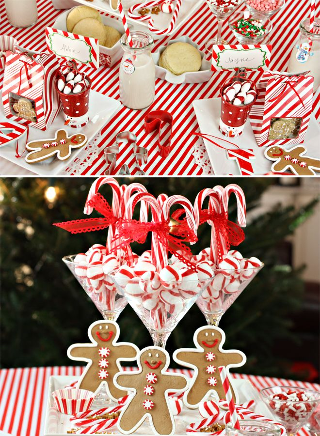 Superior Christmas Baking Party Ideas Part - 5: Peppermint Christmas Baking Party