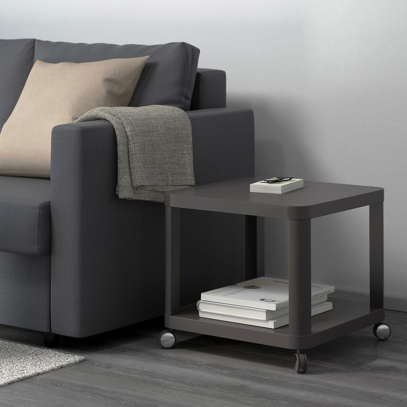 Tingby Sidebord Med Hjul Gra 50x50 Cm Ikea In 2021 Ikea Living Room Furniture Side Table Ikea Living Room [ 1400 x 1400 Pixel ]