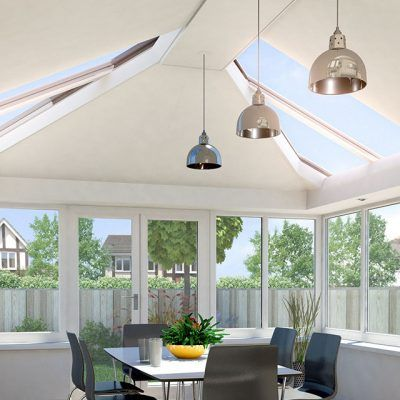 Solid Conservatory Roofs Conservatory Interior Conservatory Interiors Tiled Conservatory Roof