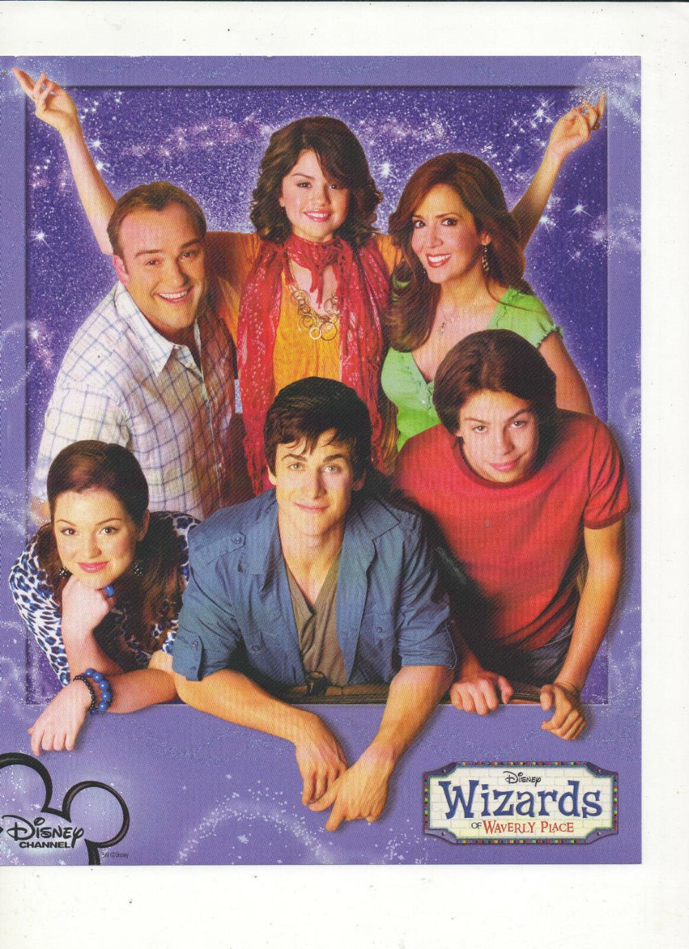 Wizards Of Waverly Place Cast Photograph Selena Gomez David Henrie More U Pick Wizards Of Waverly Place Waverly Place Wizards Of Waverly