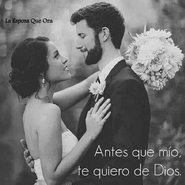 Antes que mio, te quiero de Dios