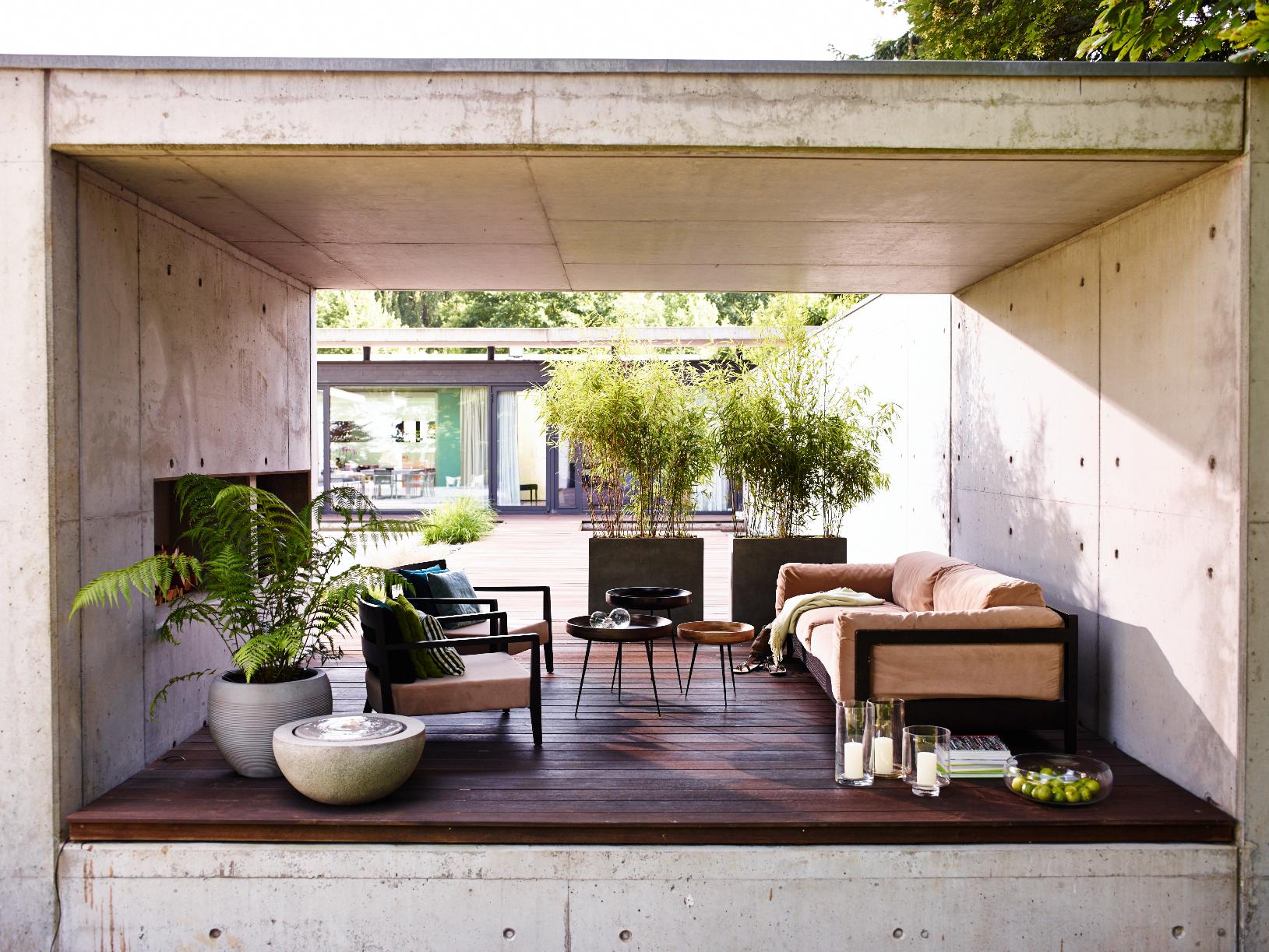 beeindruckend authentisch wirkt die oberfl che granite grey esteras emsa emsagmbh. Black Bedroom Furniture Sets. Home Design Ideas