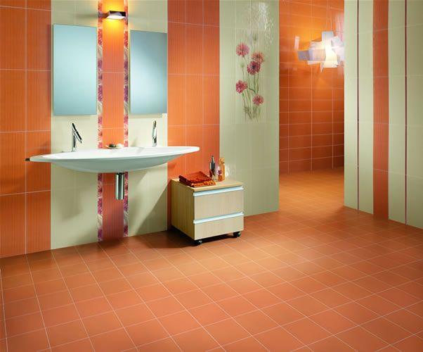 Explore Orange Bathroom Decor Orange Bathrooms And More