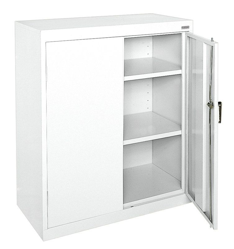 Classic Series 2 Door Storage Cabinet Steel Storage Cabinets Office Storage Cabinets Door Storage