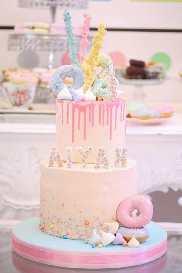 You'll Be On A Sugar High After Seeing Aiyah's Sweet Dessert Themed Birthday Party!