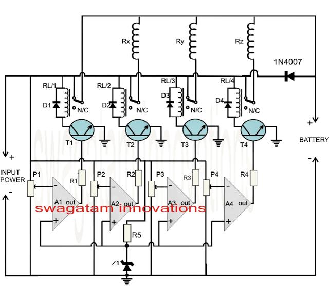Charging Circuit Mobile Fast Charger Circuit Diagram