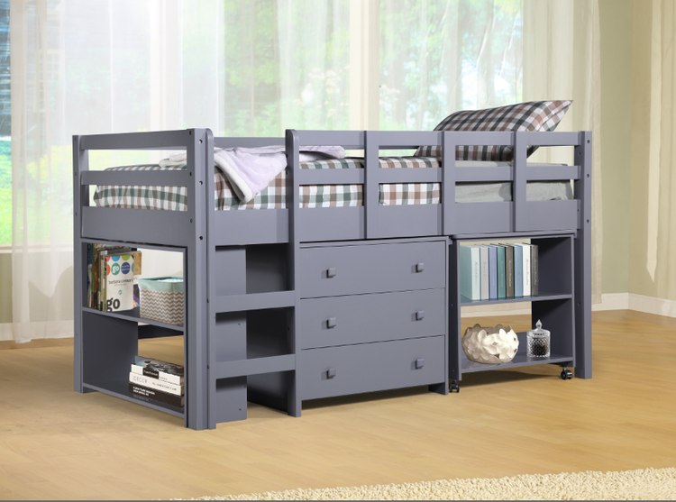 Naomi Home Low Study Loft Bed Bed Loft Bed Home