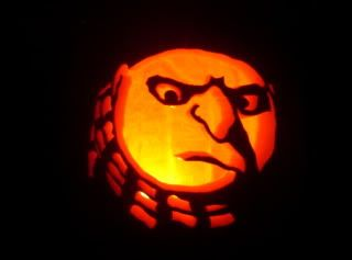 gru pumpkin photo i made this pumpkin and it looked awesome but rh pinterest com