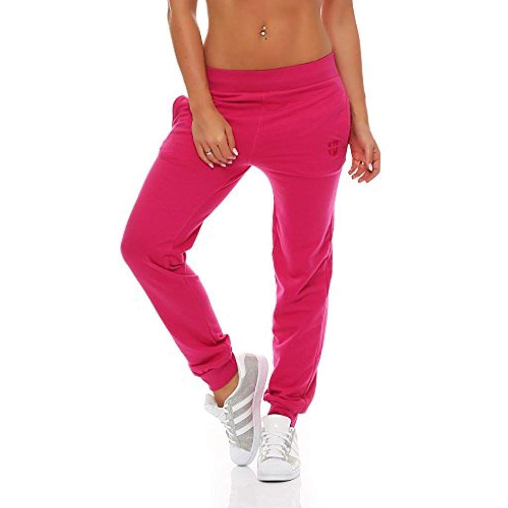 Gennadi Hoppe Damen Jogginghose Trainingshose Sweat Pants