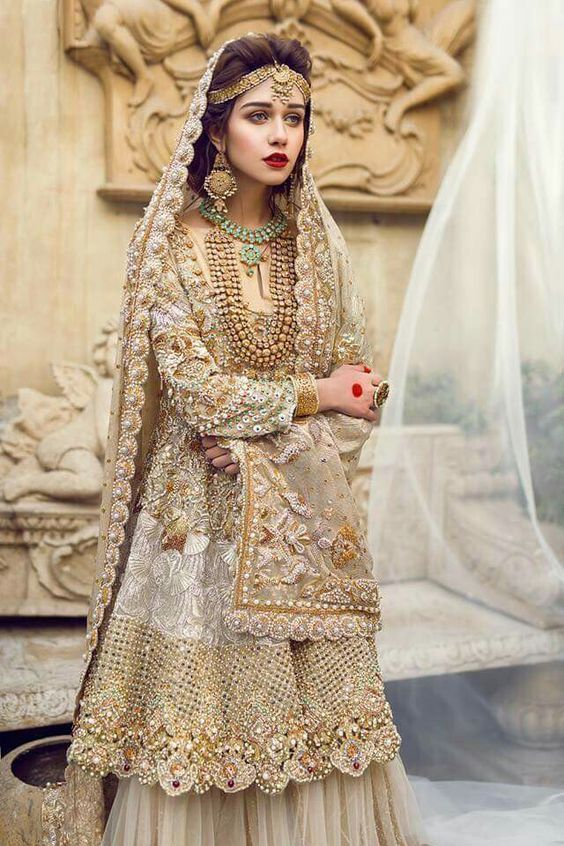 New Barat Dresses Designs For Wedding Brides 2017 2018 Beststylo