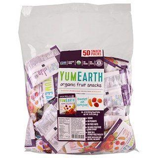 Photo of YumEarth, Organic Fruit Snacks, Banana Blast, Strawberry Sma…